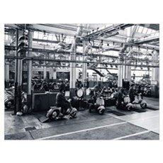 Scooter Factory Poster