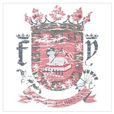 Puerto Rican Coat of Arms Canvas Art