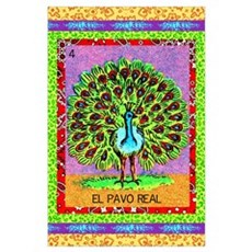 El Pavo Real Poster