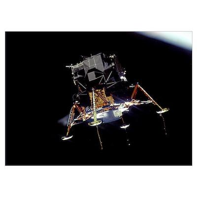 Apollo 11 Lunar Module Eagle Poster