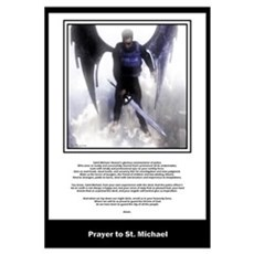 Prayer to St. Michael Canvas Art