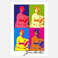 Jane Austen Pop Art