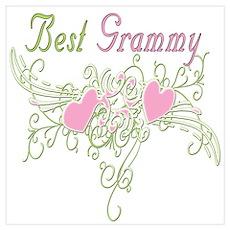 Best Grammy Hearts Poster