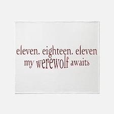 11.18.11 Werewolf Awaits Throw Blanket
