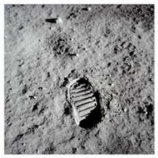 """""""One Small Step for Man"""" Poster"""