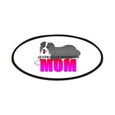 Australian Shepherd Mom Patches