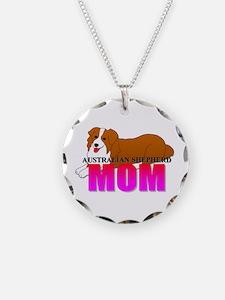 Australian Shepherd Dog Necklace