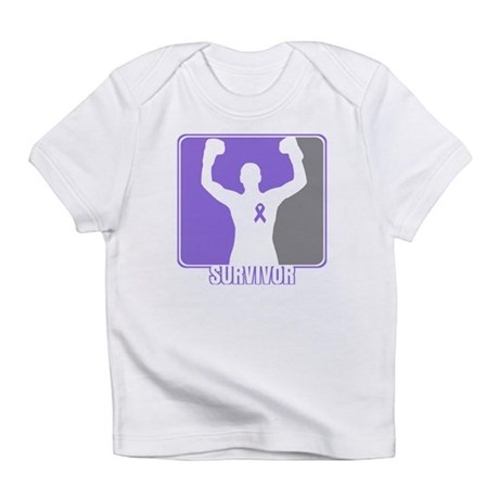 Male Hodgkin Disease Survivor Infant T-Shirt