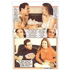 Katrina & Nigel Poster