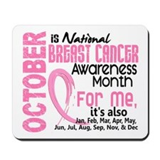 Breast Cancer Awareness Month Mousepad