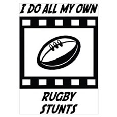 Rugby Stunts Poster