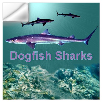 Dogfish Sharks Wall Decal