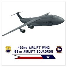 C-5A Galaxy Poster