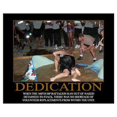 dedication motivational poster