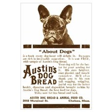 Frenchie Bread Ad Poster
