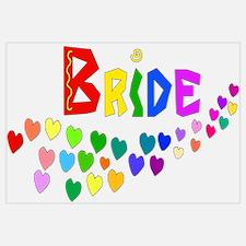 Rainbow Hearts Bride