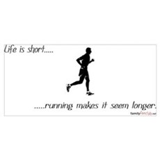 Life is Short Running Poster