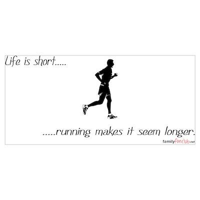 Life is Short Running Poster