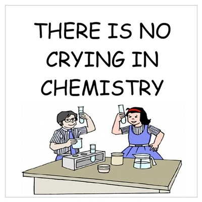 funny chemistry Canvas Art