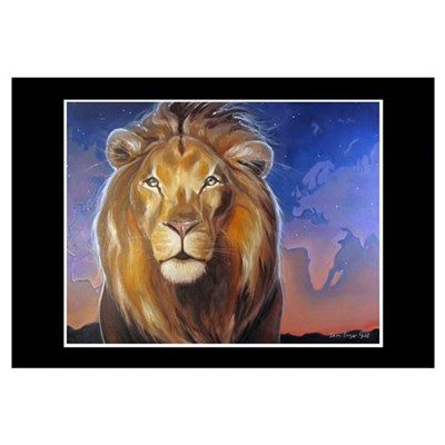 Aslan Calls Canvas Art