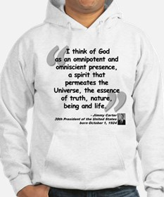 Carter God Quote Hoodie
