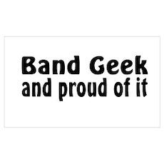 Band Geek Poster