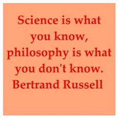 Bertrand Russell quotes Poster