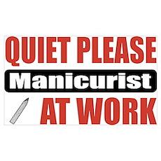 Manicurist Work Poster