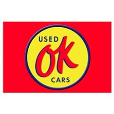 OK Used Cars Poster