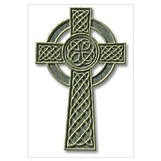 Cross 1 - stone Poster