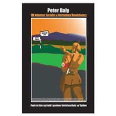 Large Peter Daly International Brigade Poster