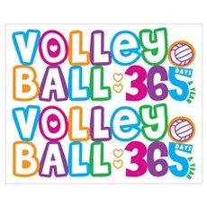 365 Volleyball Framed Print
