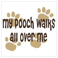 Dog Walker Poster