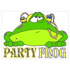 PARTY FROG Poster