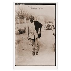 Pancho Villa in Uniform 23x35 Poster