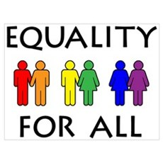 Equality Canvas Art