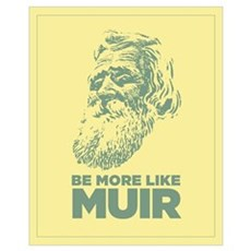16x20 John Muir Canvas Art