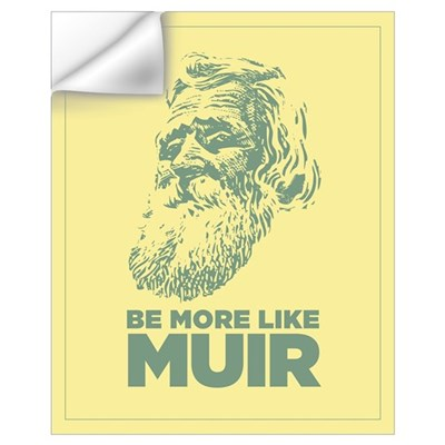 16x20 John Muir Wall Decal