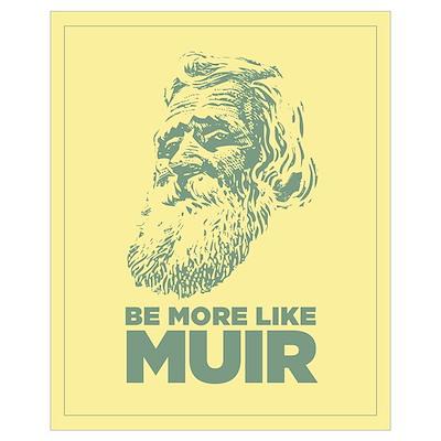 16x20 John Muir Poster
