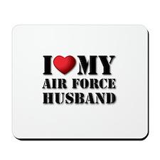 Air Force Husband Mousepad