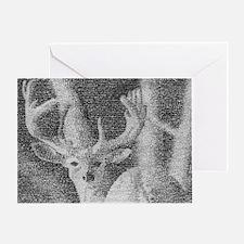 Deer - Art made of bible verse