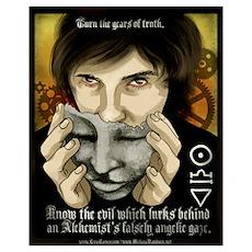 Ancestria Anti-Alchemist Propaganda III Poster