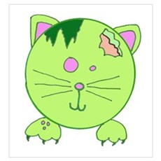 Zombie Kitty Poster