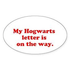 Hogwarts Letter Decal