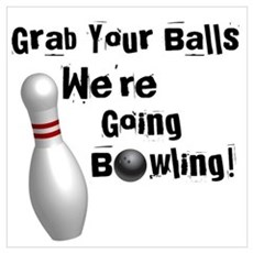 Grab your balls Poster