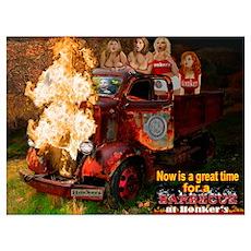 Honker's BBQ Time Poster