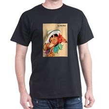 Wild West Romantic Cowboy Kiss T-Shirt
