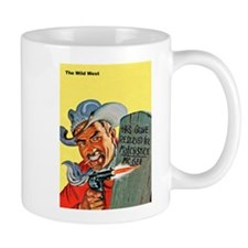 Wild West Matchstick McGee Outlaw Small Mug