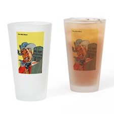 Wild West Matchstick McGee Outlaw Drinking Glass