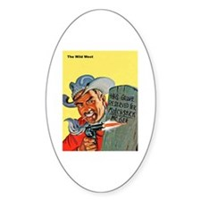 Wild West Matchstick McGee Outlaw Decal